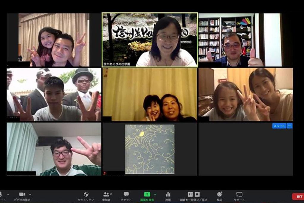 Zoomで会話をしながら、みんなでマインクラフト。自分の作品をみんなに紹介しよう! 友達のやり方もから学ぼう!